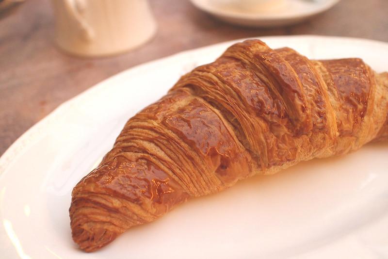 Salted Egg Lava Croissant