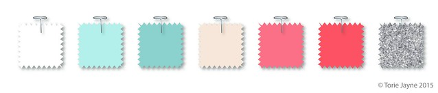 Maisy's Neon, Mint & Silver Collection colour palette-01