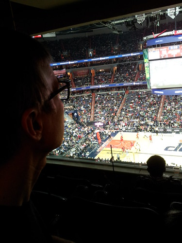 Rudi at the Wizards Game