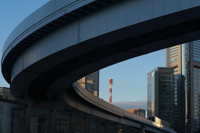 Tokyo Train Story ゆりかもめ 2016年2月7日