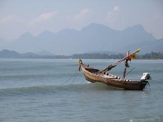 Riding the waves, Pran Buri, Thailand