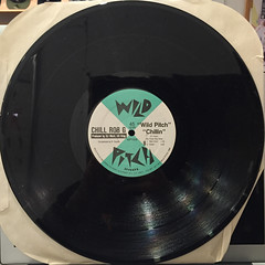CHILL ROB G:DOPE RHYMES(RECORD SIDE-B)
