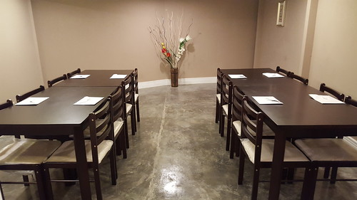 Meeting / function room | Dinner at Koffie Pauze In Its New Home at Roxas Avenue Dormitory - DavaoFoodTrips.com