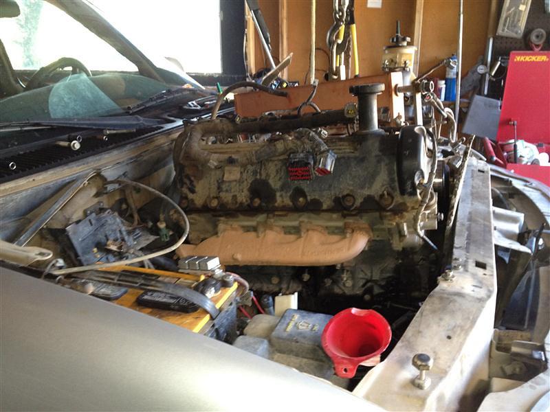 starting the v10 swap in 99 f 150 f150online forums rh f150online com Ford V10 Supercharger Ford V10 Engine Swap
