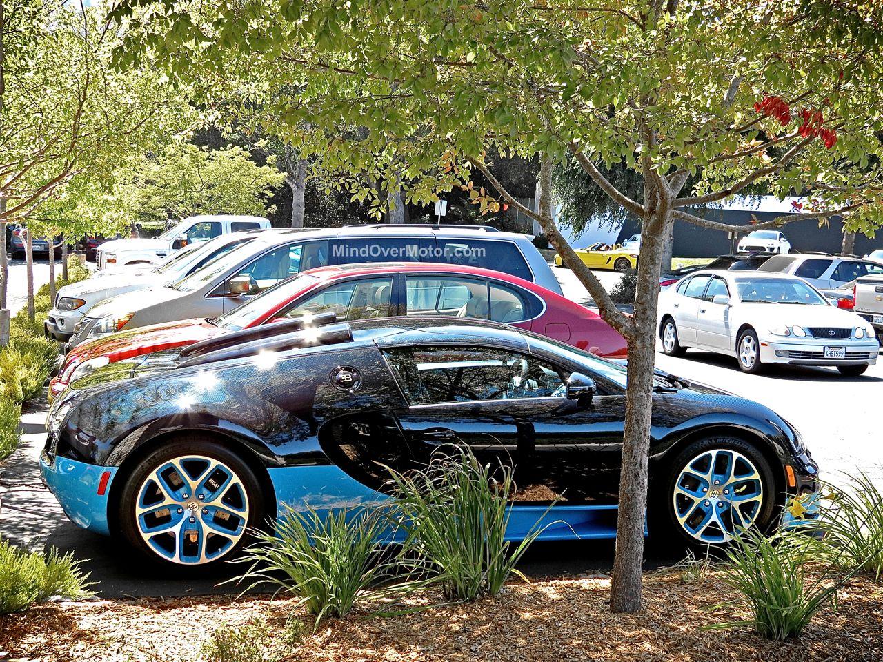 Bugatti Veyron Grand Sport Vitesse Blue Carbon 8