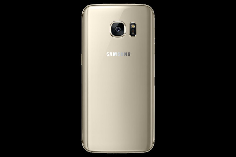 Samsung Galaxy S7 - Gold Platinum - Back