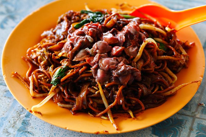 Jinjang Fresh Cockles Fried Noodles