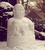 The Zen of snow sculpture