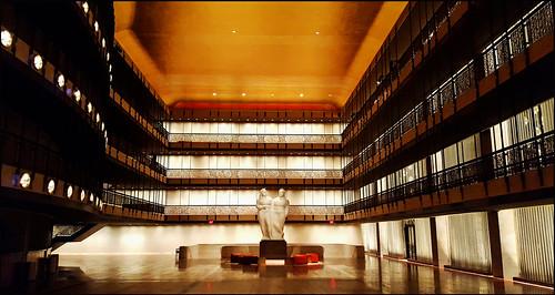 """""""Empty Koch"""" – Lincoln Center, NYC"""