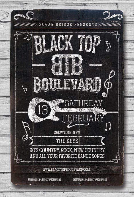 Black Top Boulevard 2-13-16