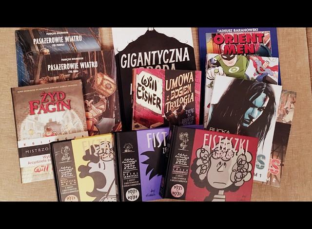 2016 batch of comics