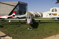 458 5-MF - 458 - French Air Force - Fouga CM-170R Magister - Polish Aviation Musuem - Krakow, Poland - 151010 - Steven Gray - IMG_9664
