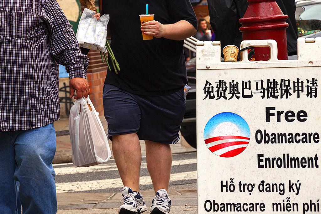 Free Obamacare Enrollment--Chinatown