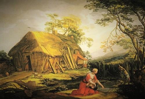 ラトナとリュキア人の農民