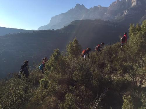 Joves a Montserrat