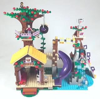 Lego Friends 41122 Adventure Camp Tree House Review Brickset Lego