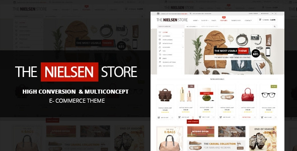 Nielsen v1.4.1 - E-commerce WordPress Theme