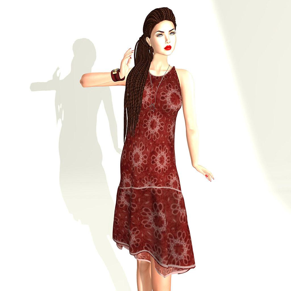 Snowpaws - Soha Dropwaist Dress