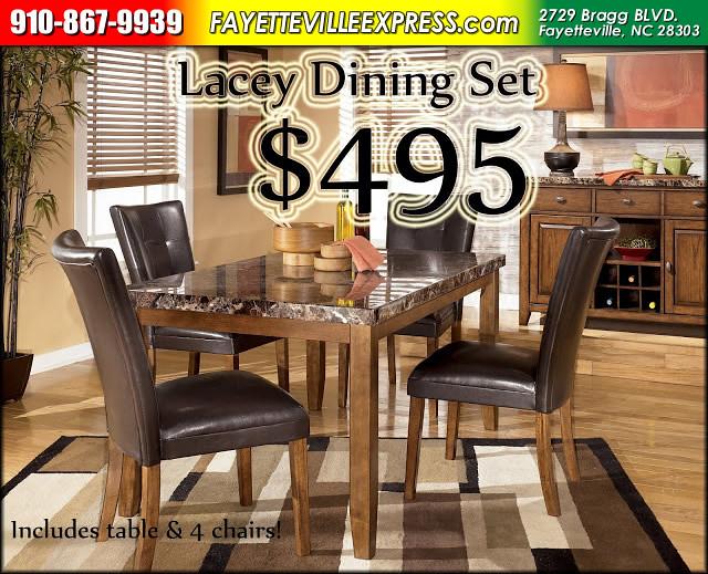 Lacey Dining Rasta FX