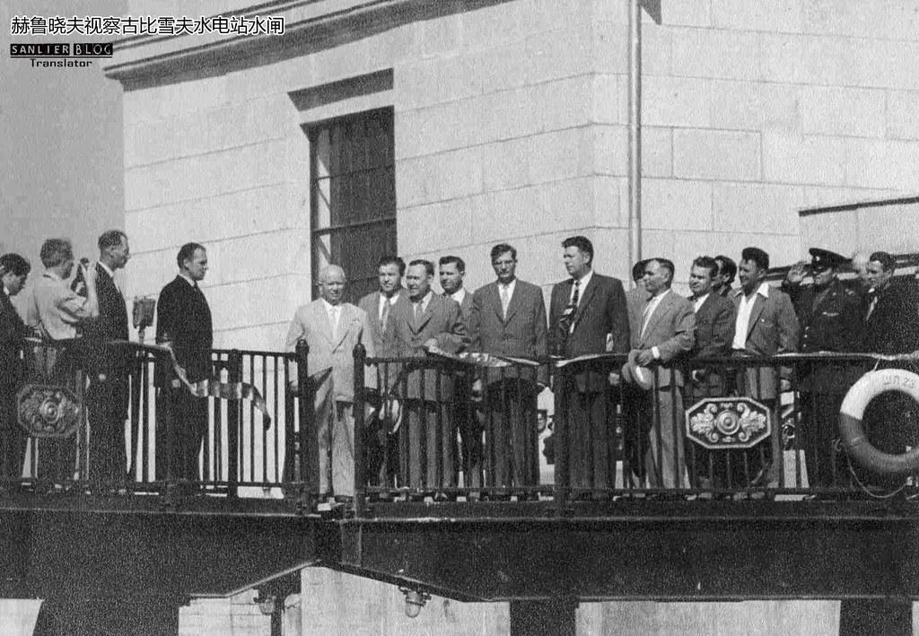 赫鲁晓夫1958视察古比雪夫州10