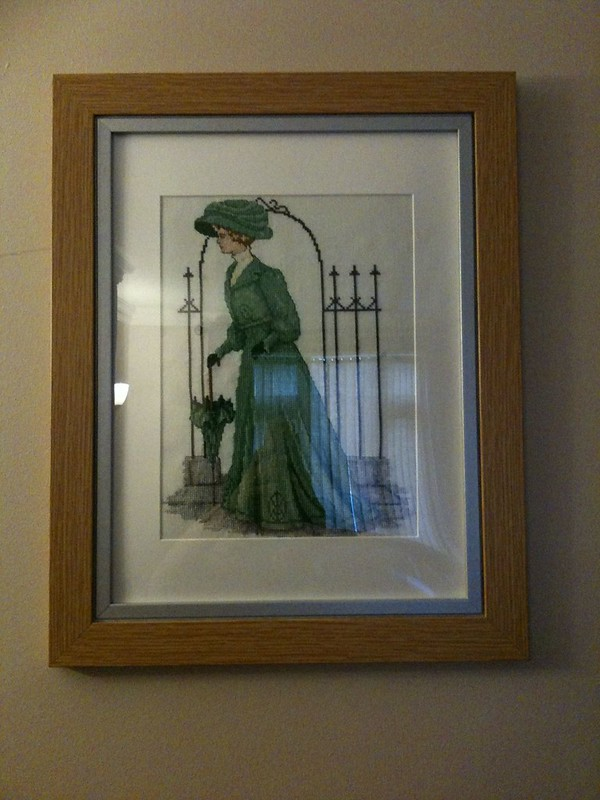 Edwardian Lady Framed