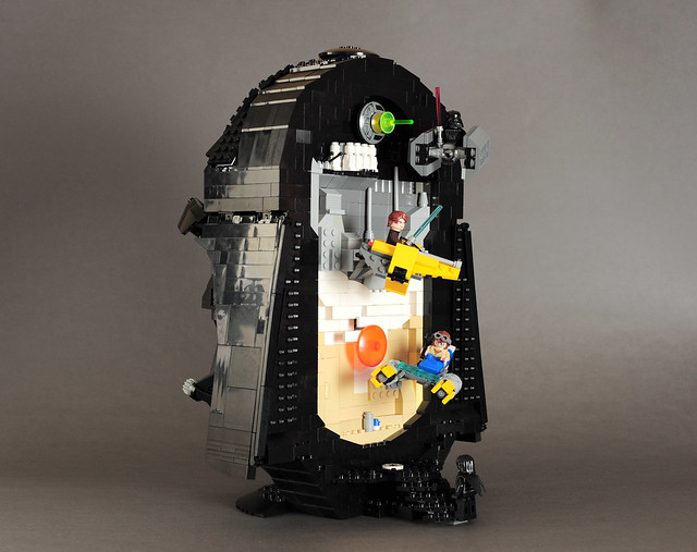 Stunning LEGO Darth Vader mask cleverly hides scenes from ...