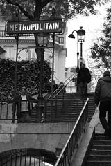 Paris Metro Stairs
