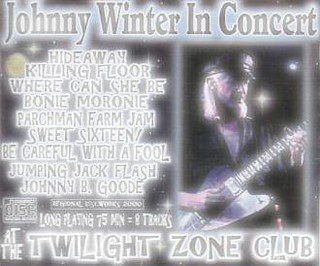 Johnny Winter's The Twilight Zone