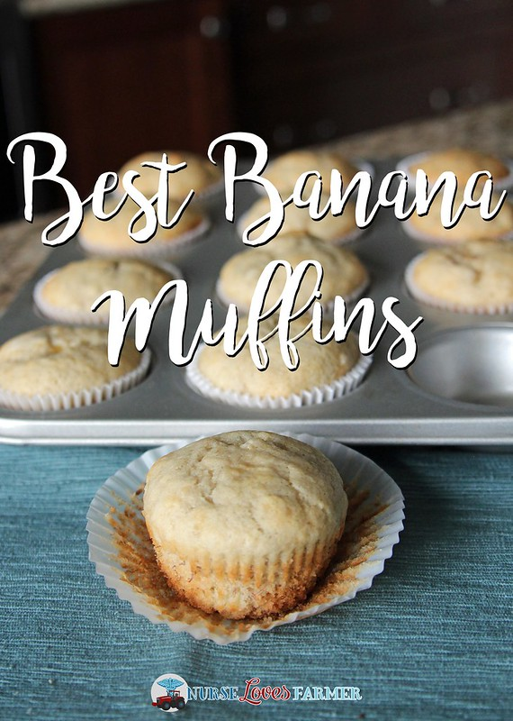 Best Banana Muffins. Why the best? Well, the best I've ever found and keep making because they are moist, spongy and have never failed me!