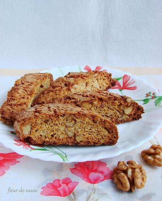 бискотти с кленовым сиропом и орехами 1