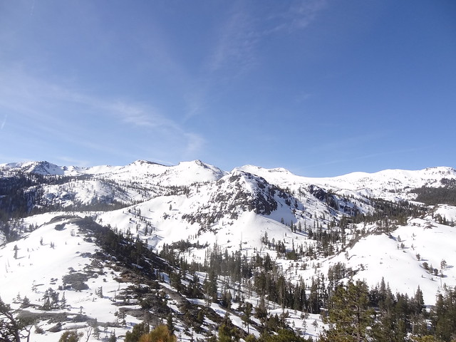Looking into Desolation Wilderness