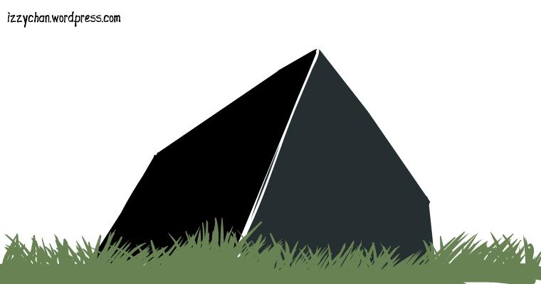 black cube monolith