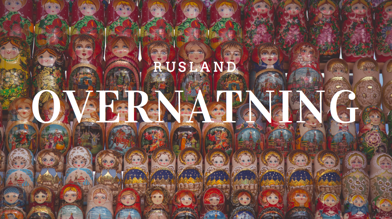 Rusland Overnatning Babushla