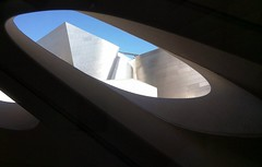 Disney Concert Hall from The Broad Museum