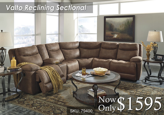 Valto Reclining Sectional 79400