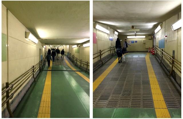 JR広島駅 地下自由通路 広島市南区松原町