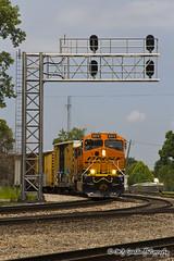 BNSF 8374 - ES44C4 - BNSF Thayer South Subdivision
