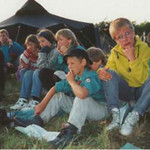 Zeltlager Schweden 1995