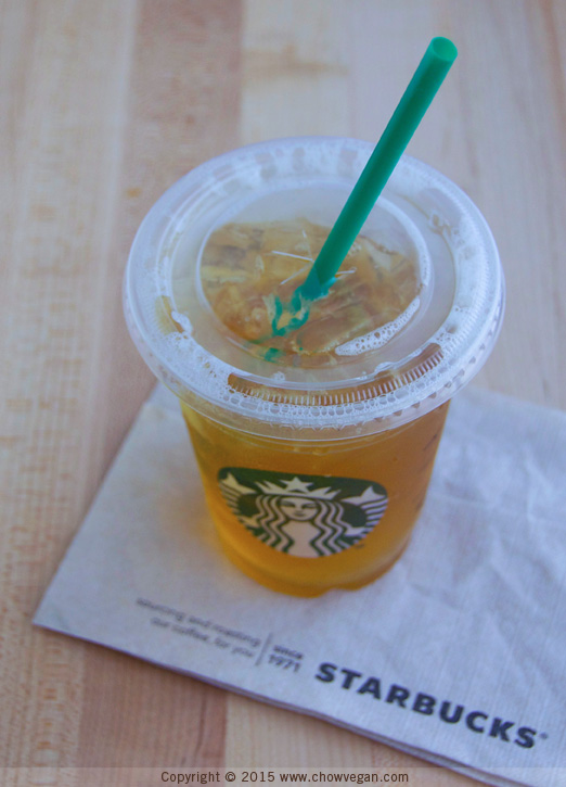 Starbucks Peach Green Tea Lemonade