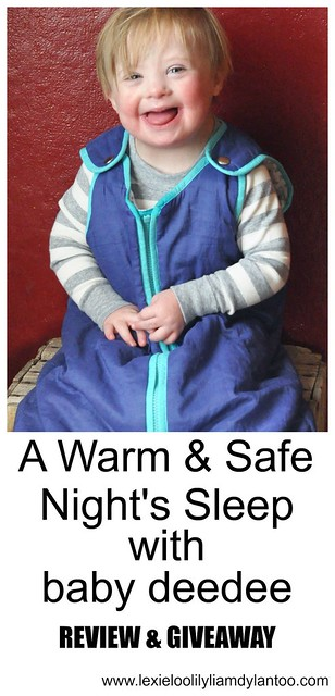 A Warm & Safe Night's Sleep with baby deedee review and giveaway