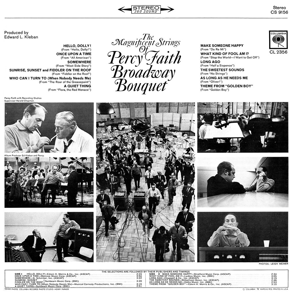 Percy Faith - Broadway Bouquet