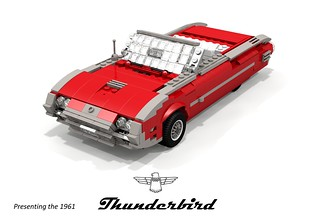Ford 1961 Thunderbird Convertible