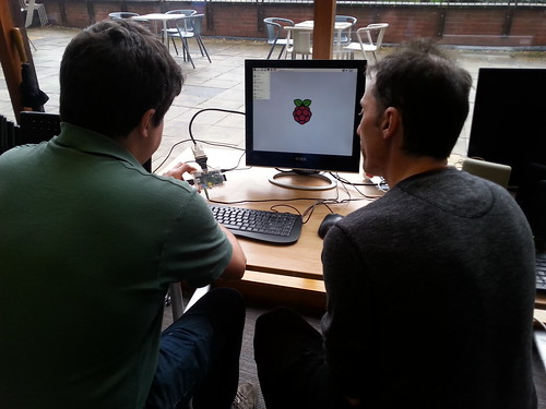 Raspberry Pi Jam at Exeter Library 9th January 2016