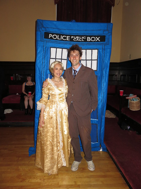 Madame de Pompadour and The Tenth Doctor courtesy of Jean Martin