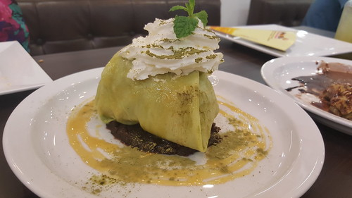 Green Tea Paradise Crepe 149 บาท