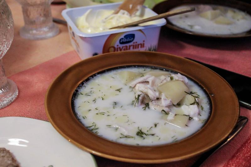 salmon soup finland