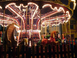Gallopers Carousel - Scarefest 2012