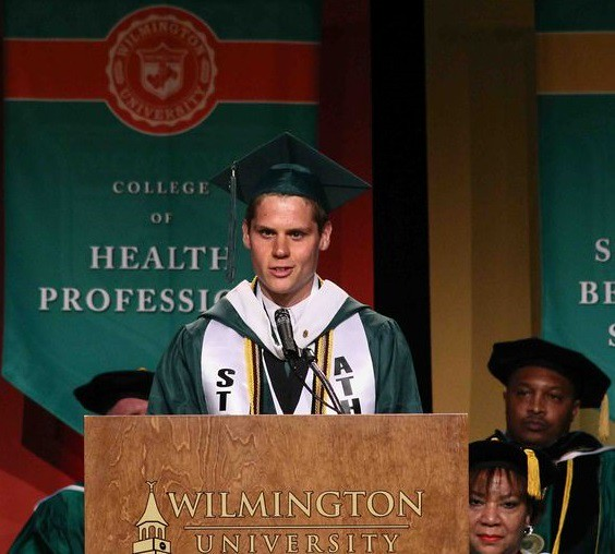 Graduating student Zachary Lee was one of three students selected to speak at the 2015 commencement ceremonies due to his exemplary grades and community service.