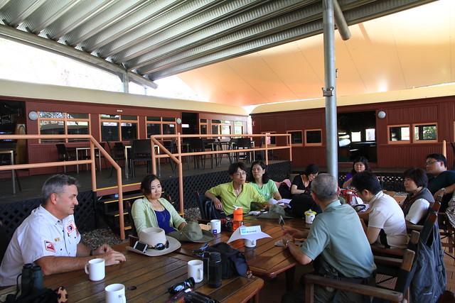 澳洲昆士蘭Undara Experience座談-20141116-賴鵬智攝