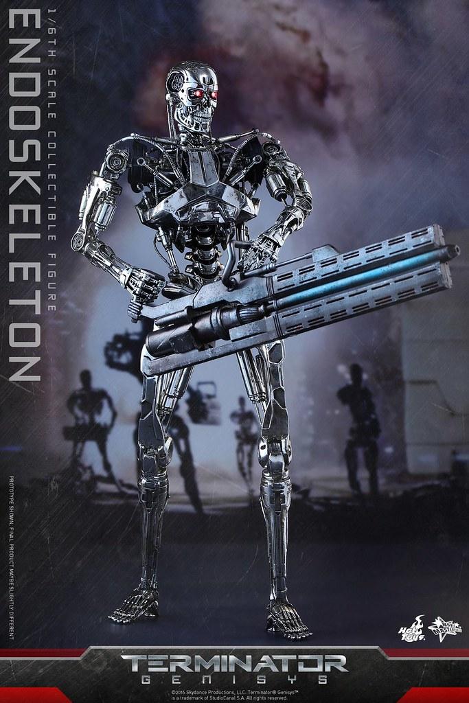 Hot Toys – MMS352 – 魔鬼終結者:創世契機【內骨骼】Endoskeleton 1/6 比例人偶作品